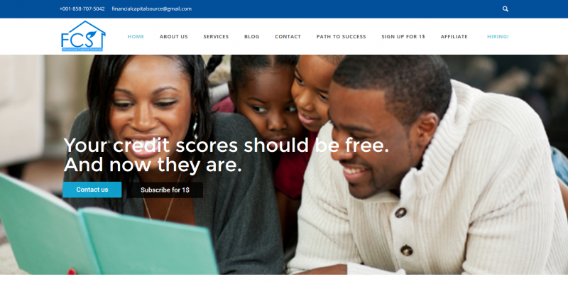 Financial Capital Sources Premium Brand to improve your credit score – Just another WordPress site